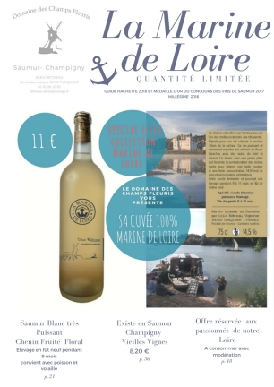 Collection Marine de Loire Blanc Particulier