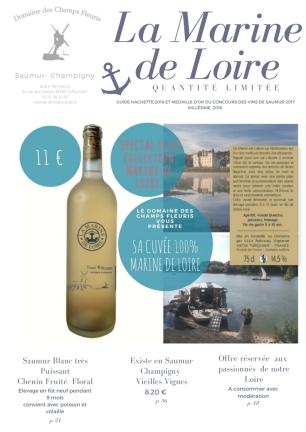 Collection Marine de Loire Blanc Particulier