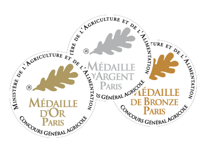 medaille concours agricole